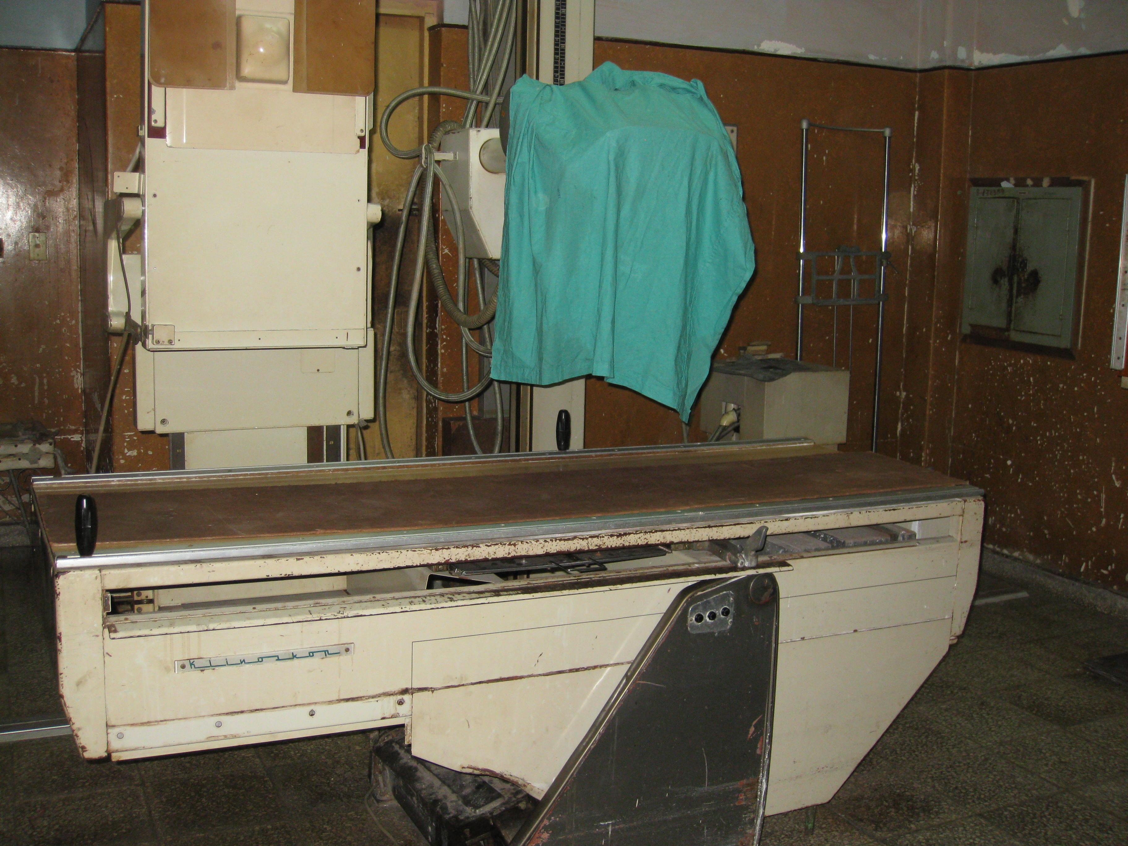Cuba X Ray machine