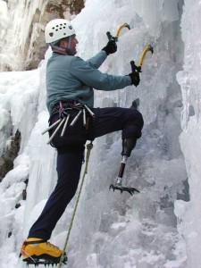 Malcom Daly, Ice Climber