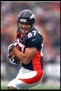 Ed McCaffrey of the Denver BroncosPhoto: © Rich Clarkson & Associates, LLC