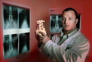 Dr. Chad Prusmack, a neurosurgeon with the Sky Ridge Spine & Total Joint Center