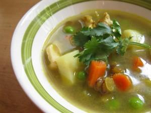 tumeric chicken soup