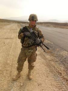 iPad soldier