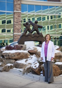 Dr. Christine Darr, medical director of the Pediatric Emergency Department at Rocky Mountain Hospital for Children