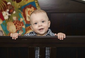 Happy and healthy one year old, Riad Androvic.