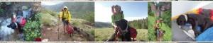 Trevor Thomas blind hiker completes Colorado Trail