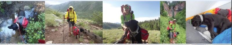 trevor thomas blind hiker colorado trail