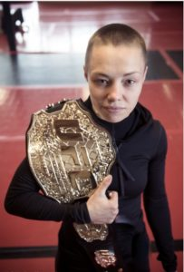 Rose Namajunas UFC Belt