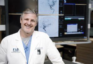 Dr. Don Frei, a neurointerventional radiologist