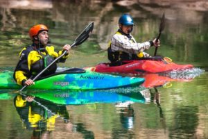 Erik Weihenmayer, Harnal, Grand Canyon kayak, James Q Martin