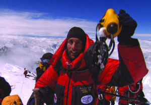 Erik Weihenmayer Everest summit
