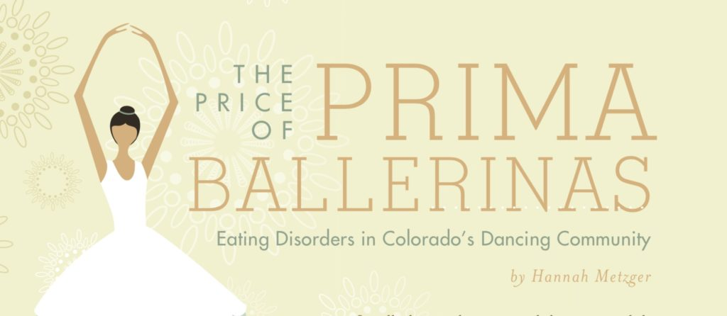 Eating Disorders in Colorado's Dancing Community, By Hannah Metzger