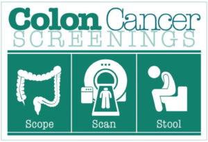 Colon screening at 45, stool sample of colonoscopy?