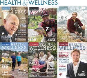 Colorado Health & Wellness magazine covers