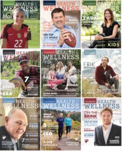 Colorado Health & Wellness magazines
