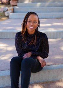 Liz Wambugu, a certified adult gerontology nurse practitioner and palliative care provider with Agape Healthcare