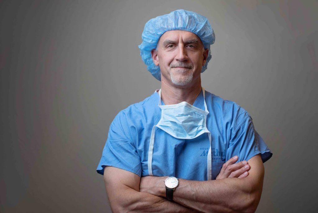 Dr. Dave Schneider. September 25, 2019. Photo by Ellen Jaskol.