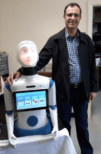 University of Denver Professor, Dr. Mohammad Mahoor and founder of DreamFace Technologies