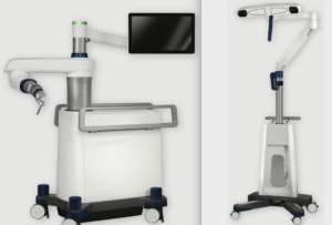 robotic-assisted navigation system to precisely place screws during spine surgery