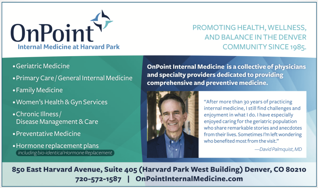OnPoint internal medicine at Harvard park