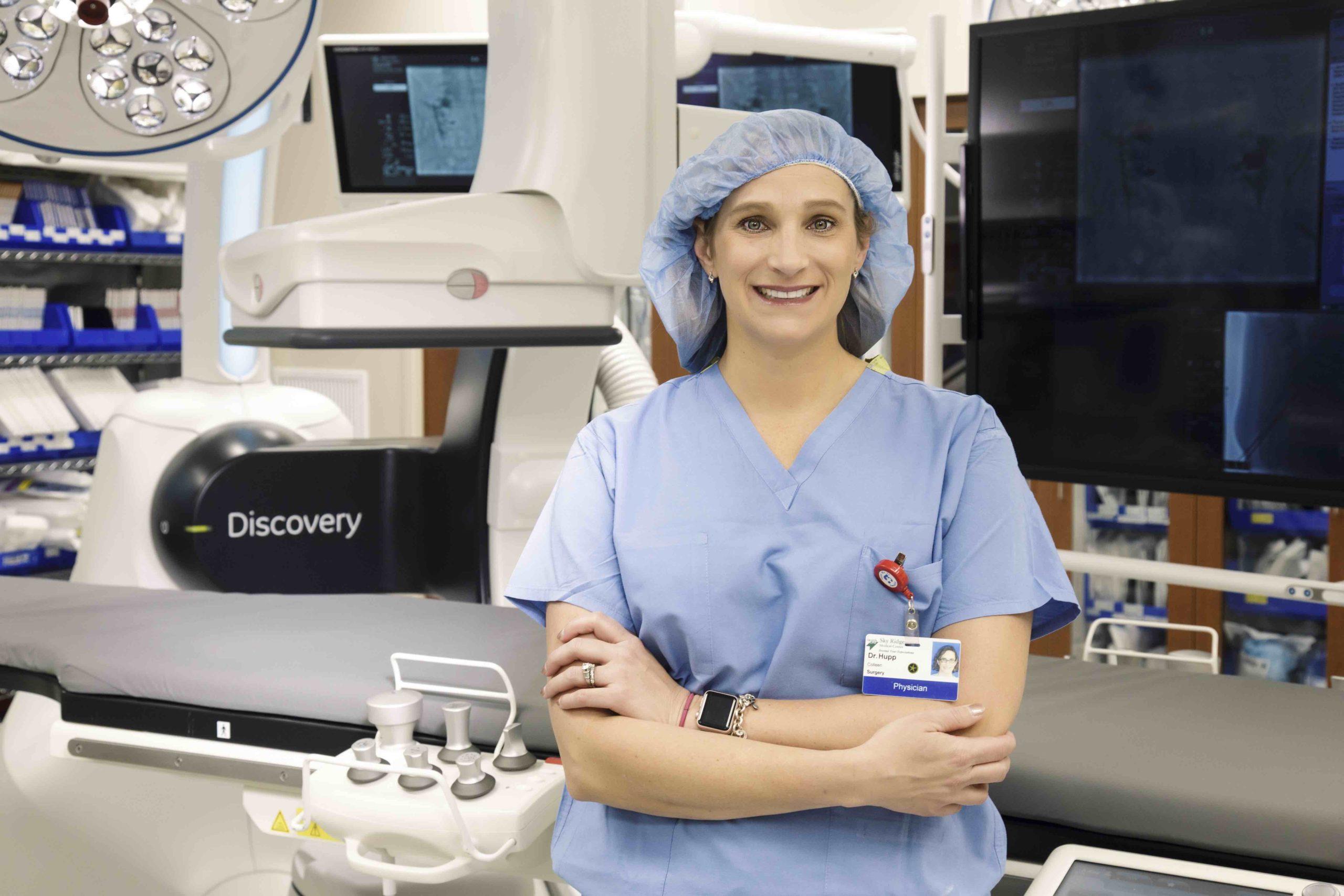 Dr. Colleen Hupp, vascular surgeon, CCSVA
